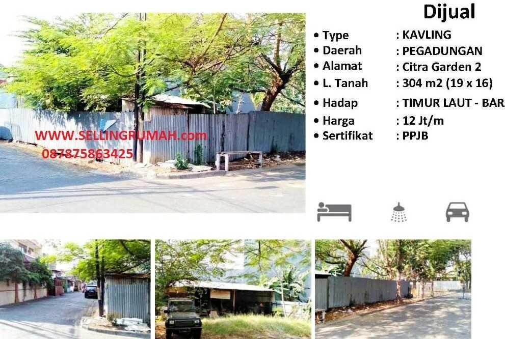 Jual Kavling Citra Garden 2 di Kaliders Sellingrumah 087875863425