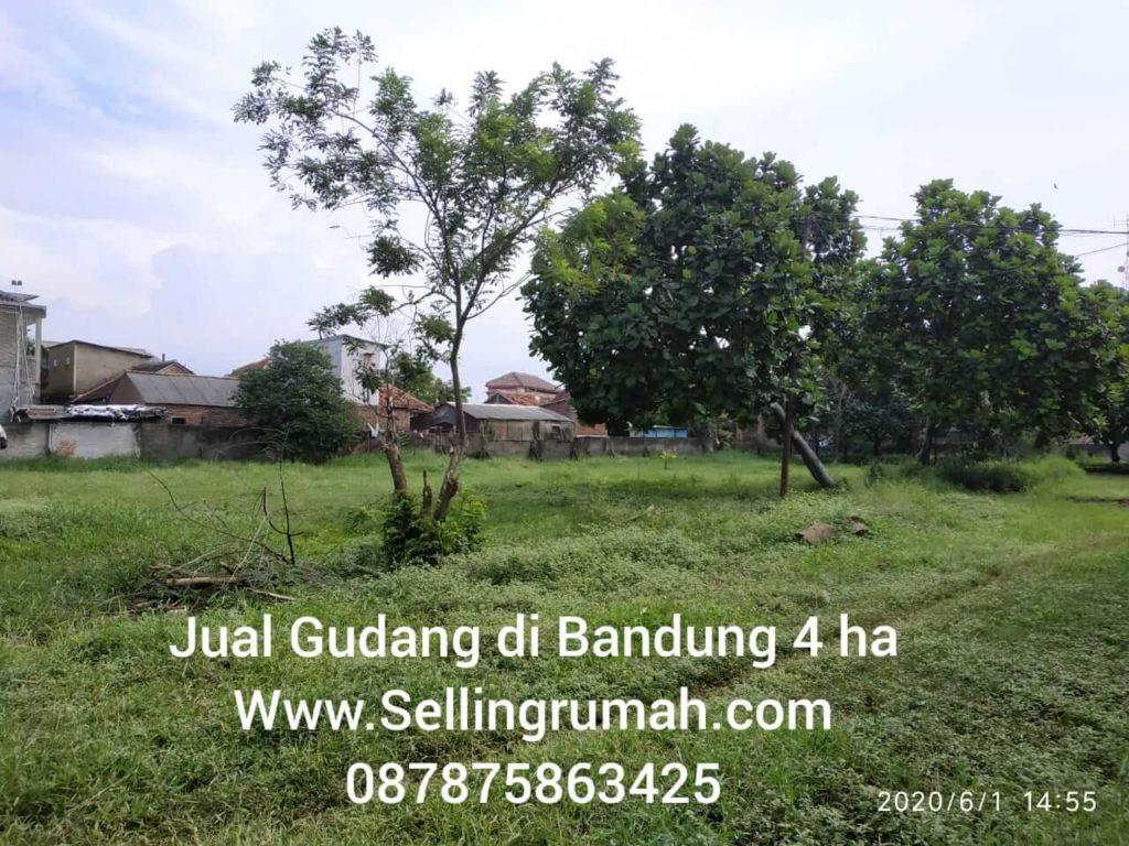 Jual Gudang 4ha Bandung Murah di PIK Sellingrumah 087875863425