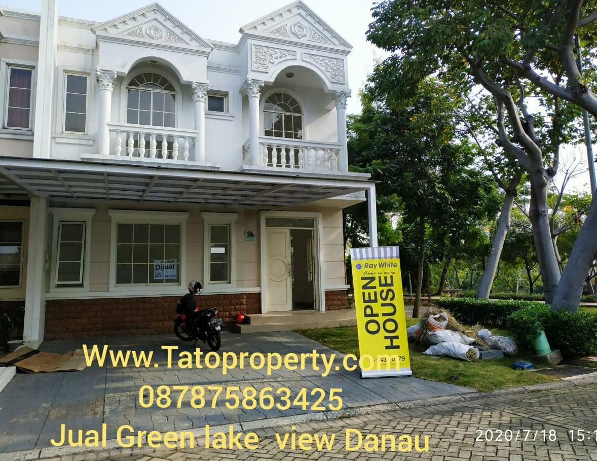 Jual Rumah Green Lake murah View Danau di Kemayoran ...