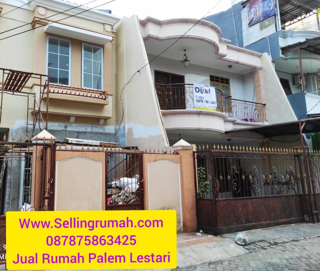 Rumah Dijual di Taman Palem Jakarta Barat Sellingrumah 087875863425