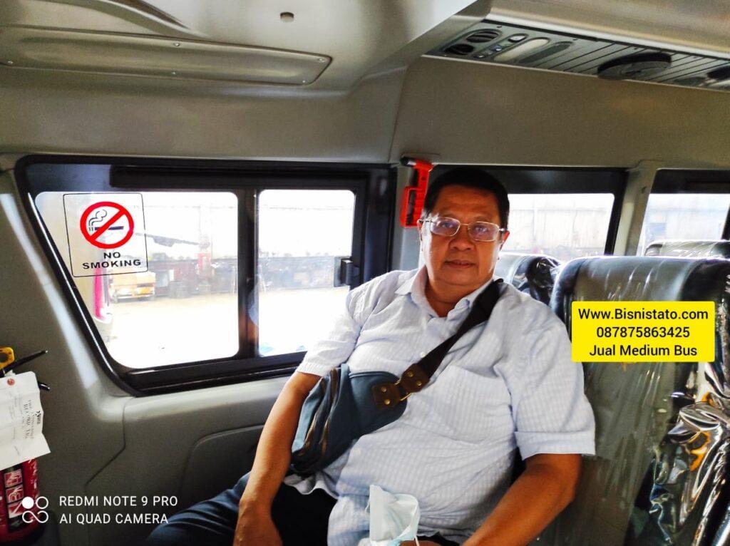 Jual Medium Bus baru di Jakarta Tato Bisnistato 087875863425